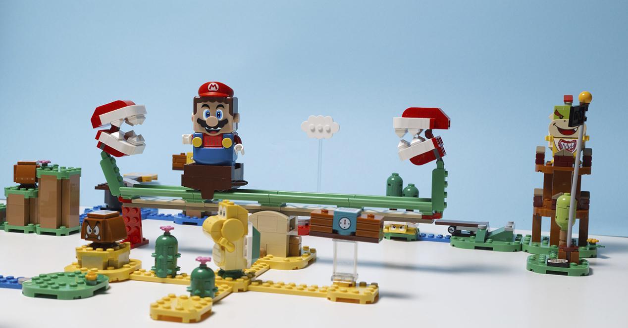 LEGO Set - äventyr med Mario