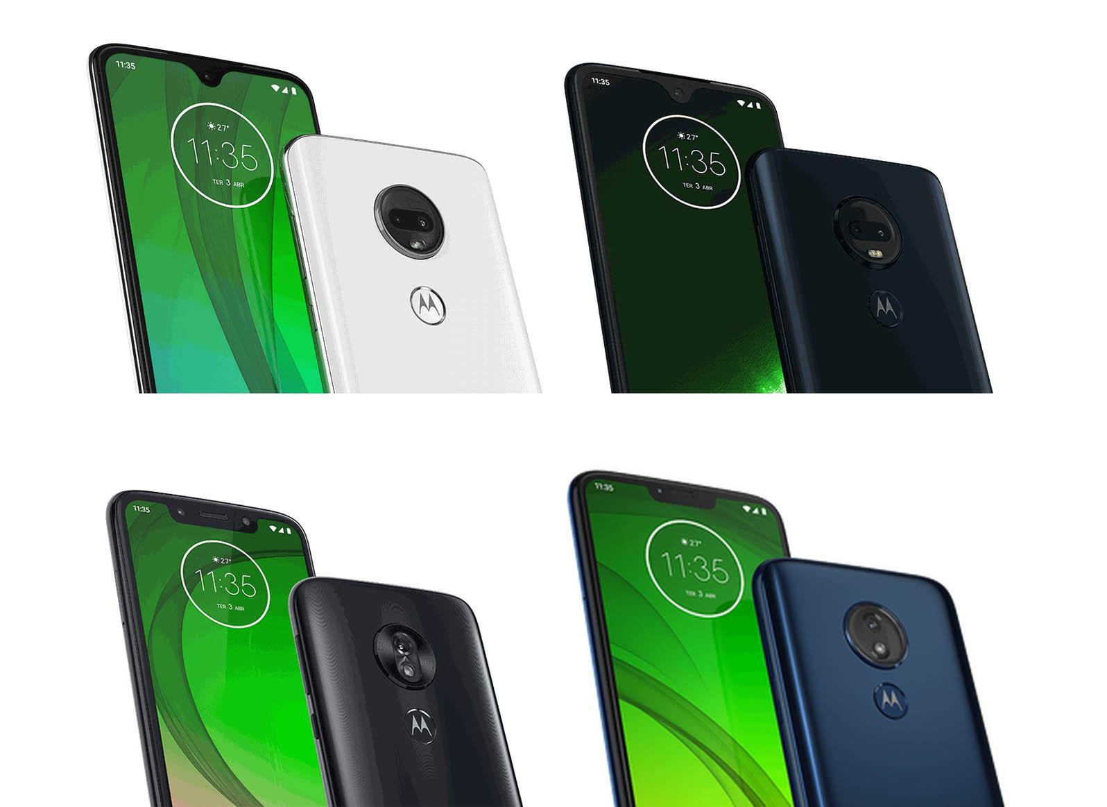 Nya Motorola Moto G7