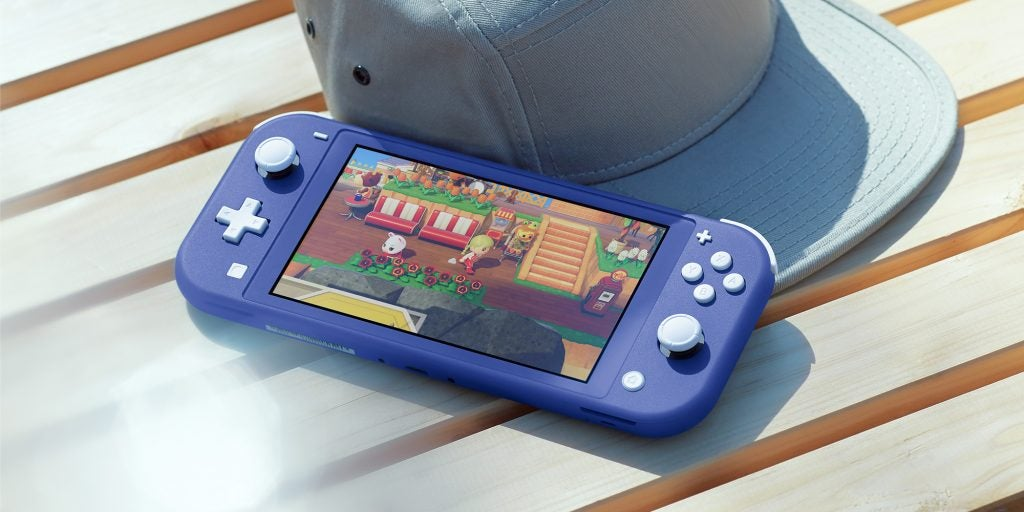 Nintendo Switch Lite i blått