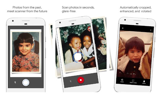 PhotoScan av Google Photos