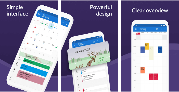 DigiCal-kalender