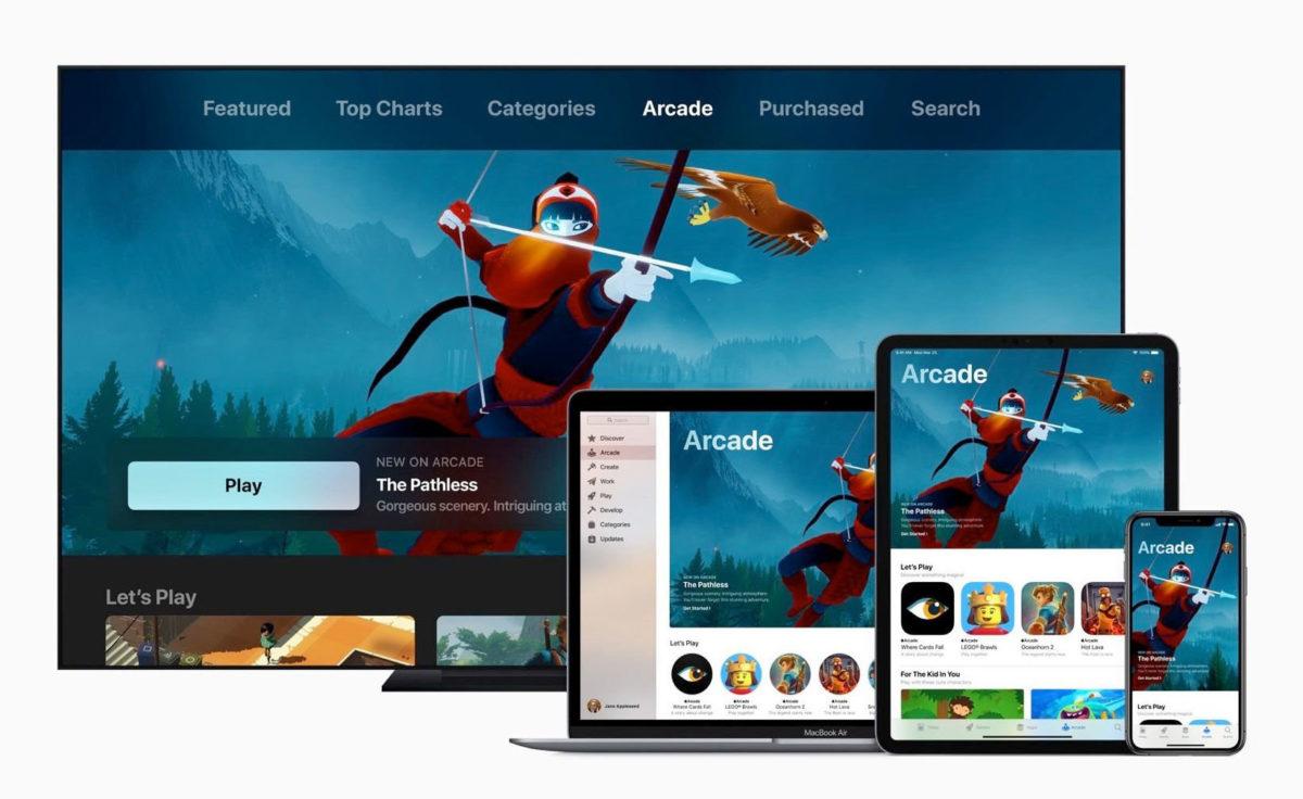 Apple Arcade Gaming-tjänst