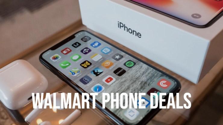 Spara $ 200 på de flesta iPhones och Samsung-telefoner på Walmart.