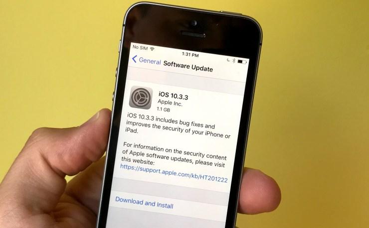 Bli bekant med iOS 10.3.3 och andra iOS-uppdateringar