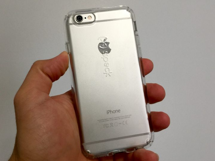 Speck CandyShell Clear iPhone 6s skal