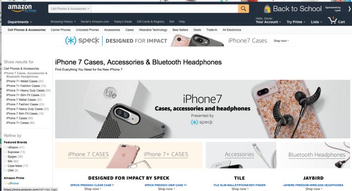 Amazon iPhone 7