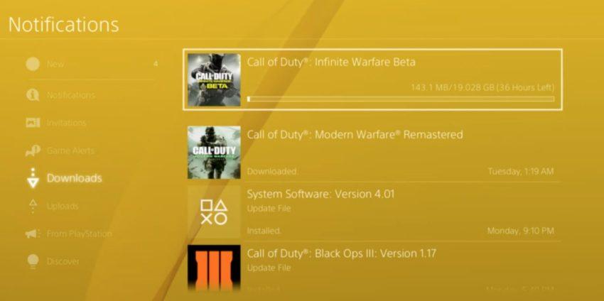 Knep för att påskynda Call of Duty: Nedladdningar från andra världskriget.