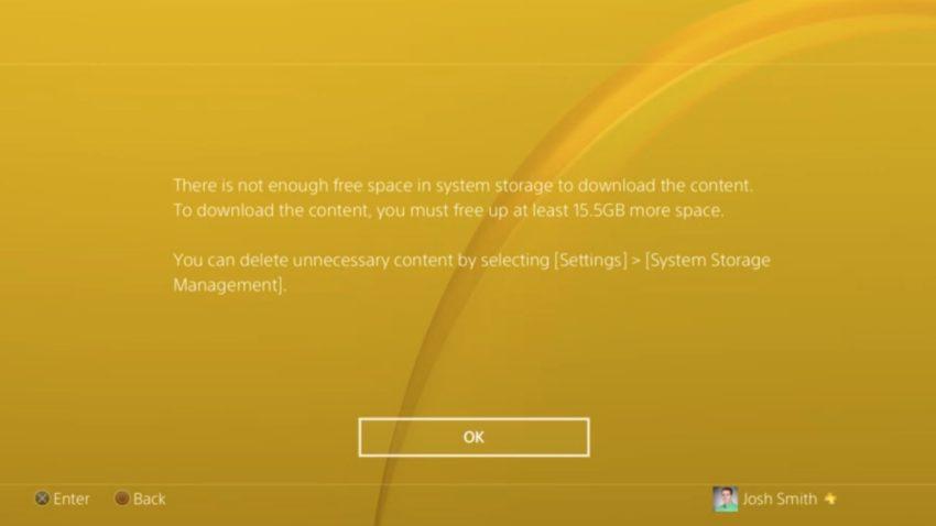 Kontrollera din lagring eller starta om konsolen för att åtgärda problem med Call of Duty: WWII-betainstallation.
