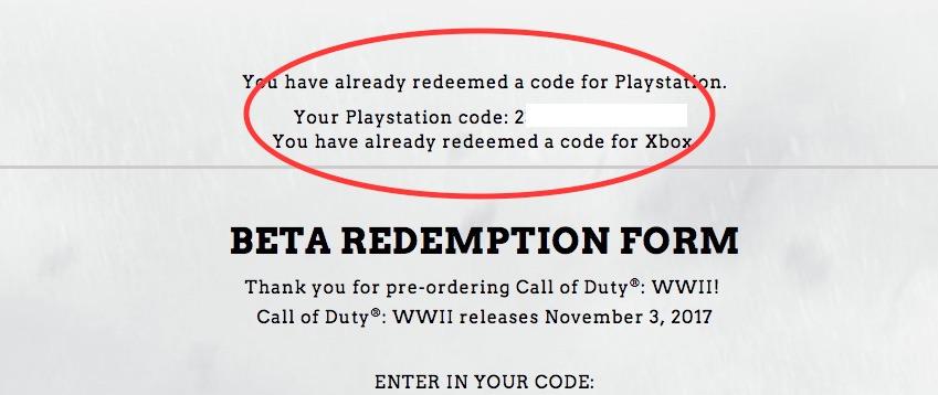 Var hittar du ditt Call of Duty: Betatoken för andra världskriget om det inte fanns i din e-post.
