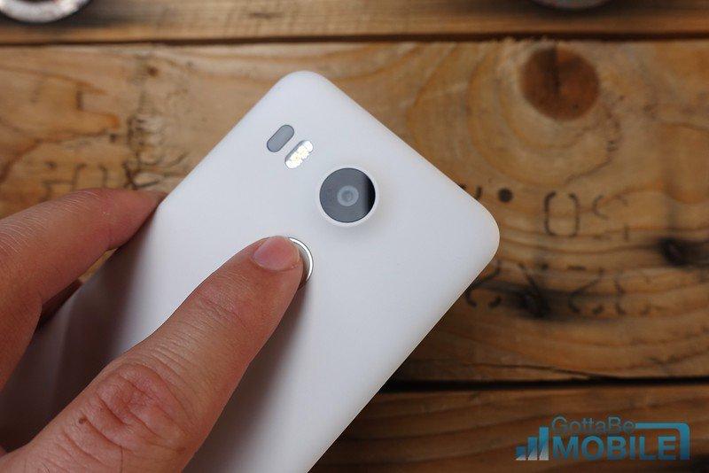 Nexus-5X-fingeravtryck
