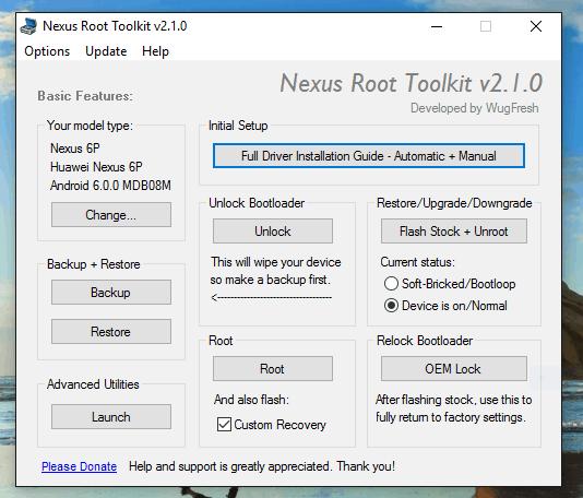 WugFresh Nexus Toolkit