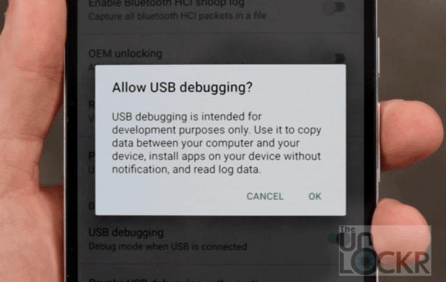 Tillåt USB-felsökning