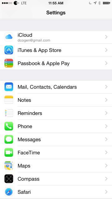 E-post, kontakter, kalendrar