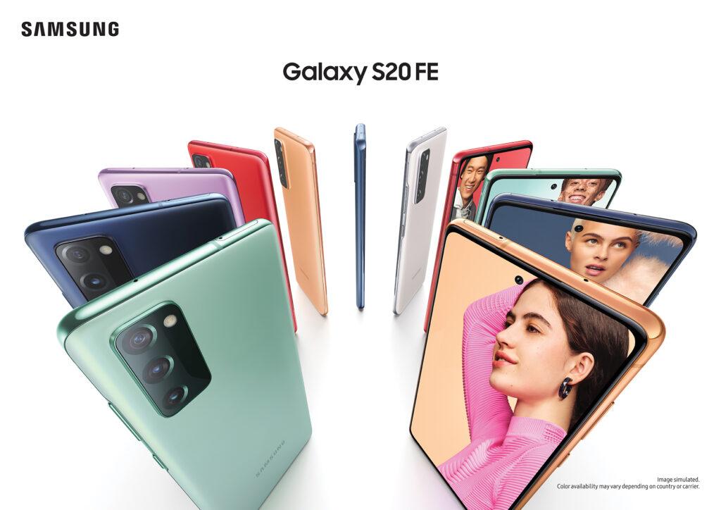 Stabil One UI 3.0-uppdatering, Samsung Galaxy S20 FE