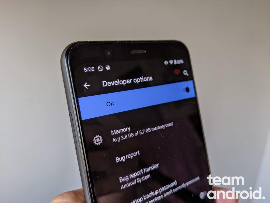 Så här aktiverar du utvecklaralternativ i Android