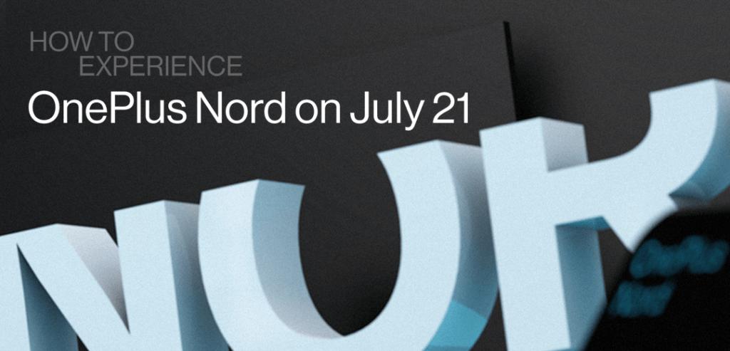 OnePlus Nord lanseringsevenemang, Livestream