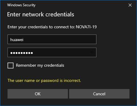 Använd Huawei Share för att överföra filer trådlöst i Windows 17