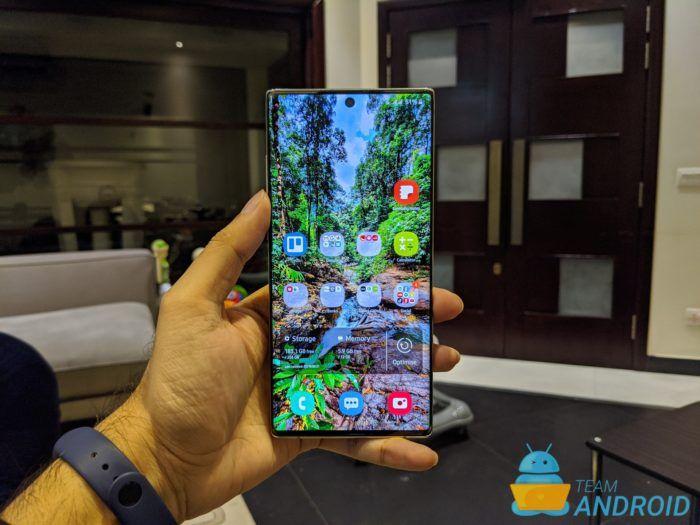 Hitta en förlorad Samsung Galaxy Note 10 Plus