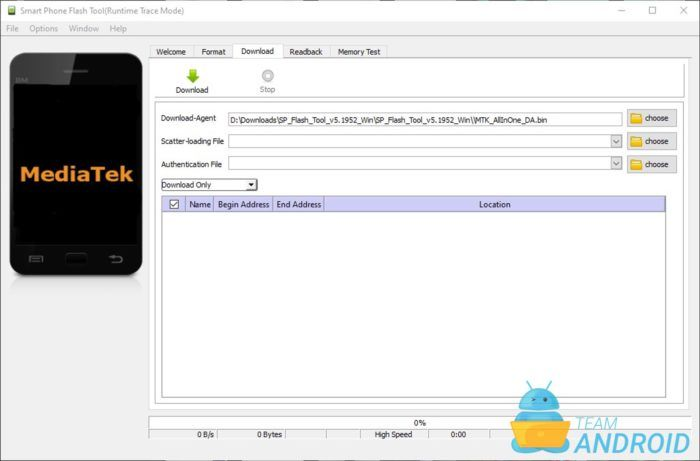 SP Flash Tool - MediaTek
