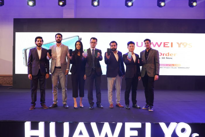 Huawei Y9s lanseringsevenemang