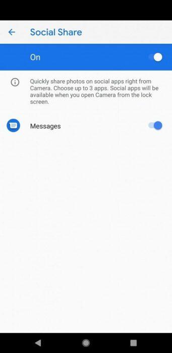 Ladda ner Google Camera 7.1 APK med Social Share, nytt gränssnitt 10