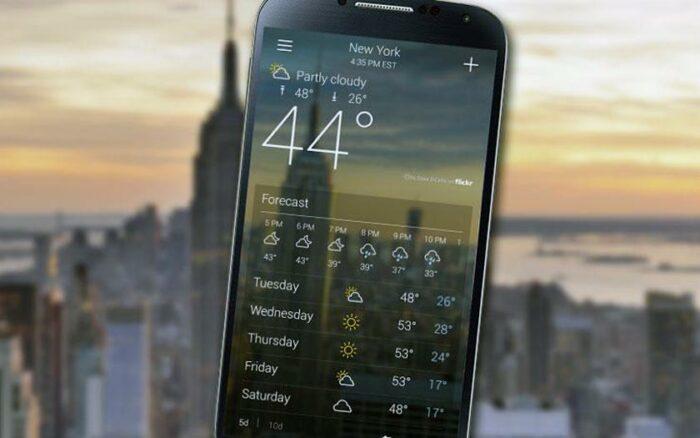 Bästa väderappar, Android
