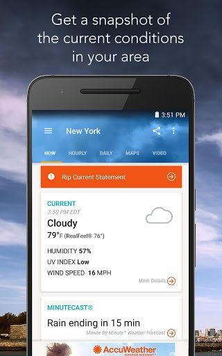 Bästa väderappar att installera på Android 11