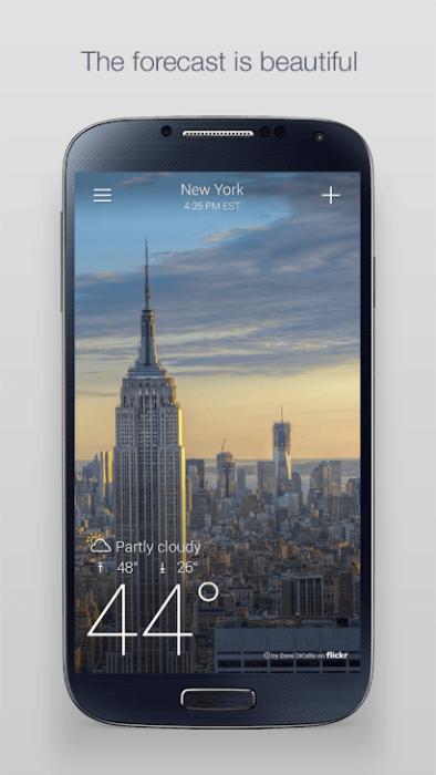 Bästa väderappar att installera på Android 13
