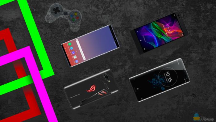 Bästa speltelefoner, Android