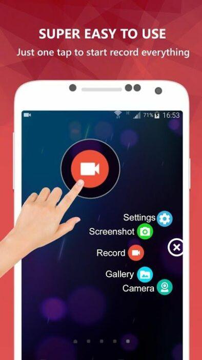 De 5 bästa apparna för Android-skärminspelare 11