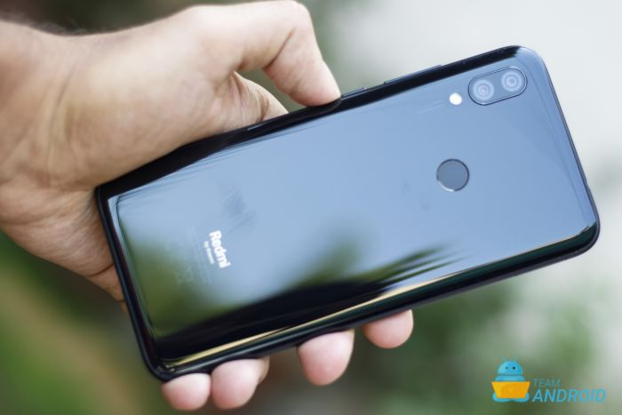 Xiaomi Redmi 7 - Baksidan