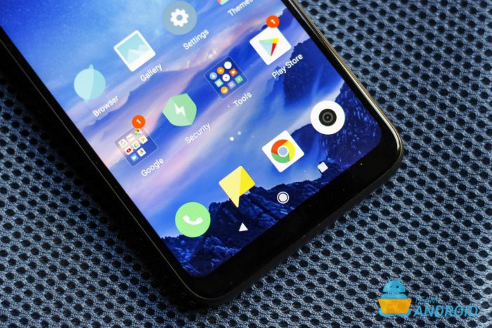 Xiaomi Redmi 7-skärm