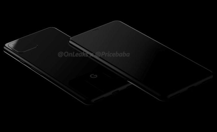 Google Pixel 4, Pixel 4 XL, renderar