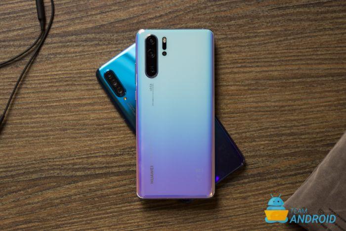 Aktivera applåda, Huawei P30 / P30 Pro