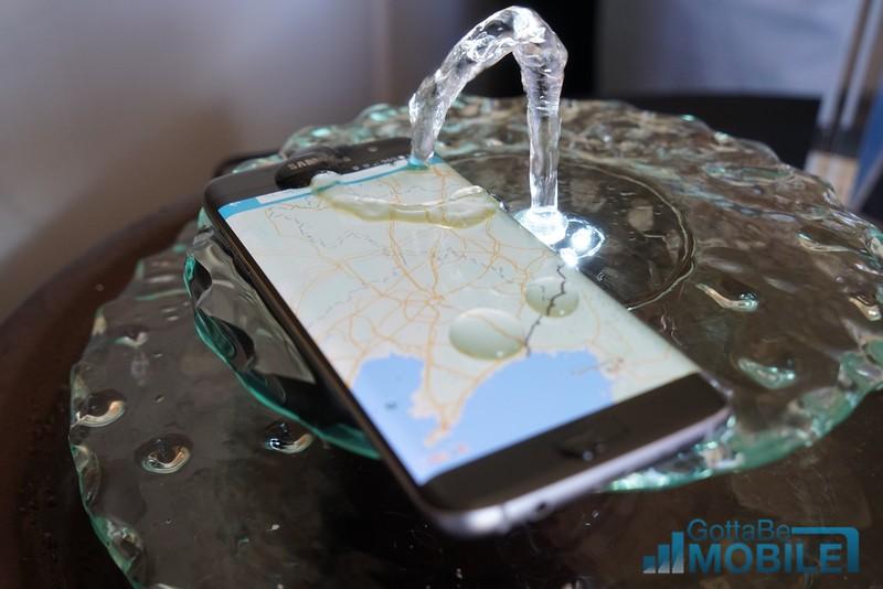 Galaxy S7 är vattentålig