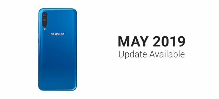 Galaxy A50, maj säkerhetsuppdatering