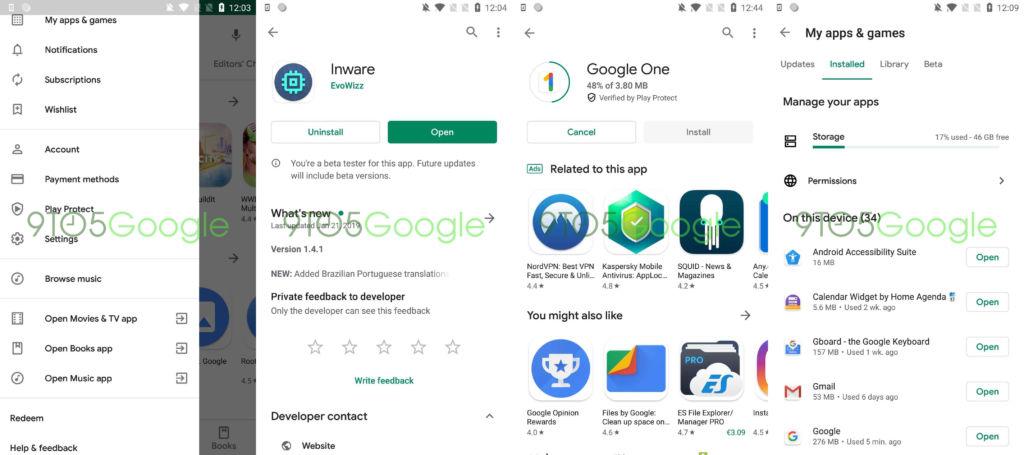 Google Play Store 14.5.52 APK-uppdatering ger en ny materialdesign 11