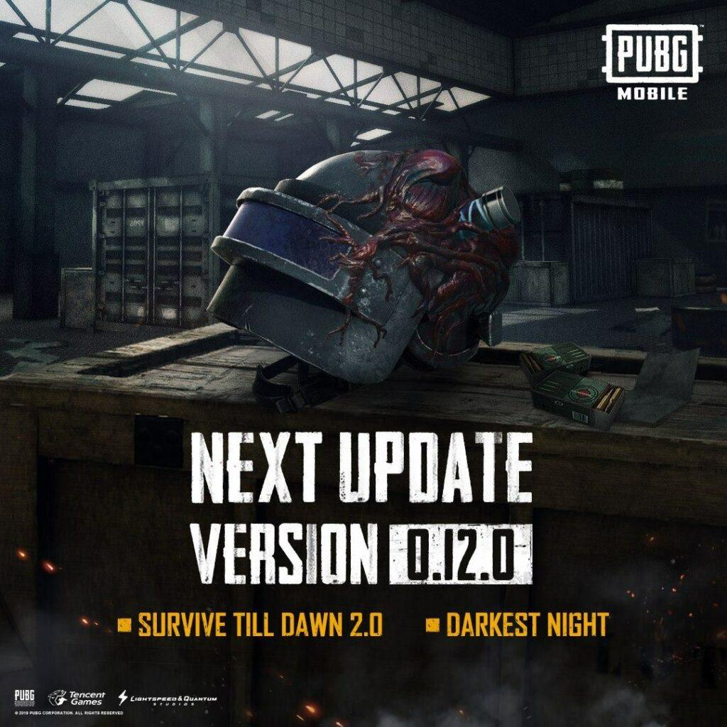 PUBG Mobile 0.12.0-uppdatering
