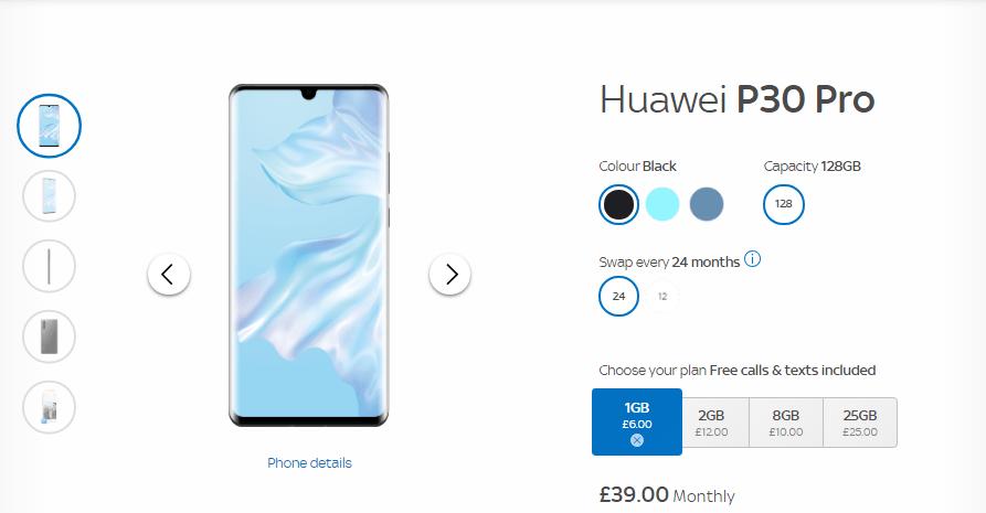 Huawei P30 Sky