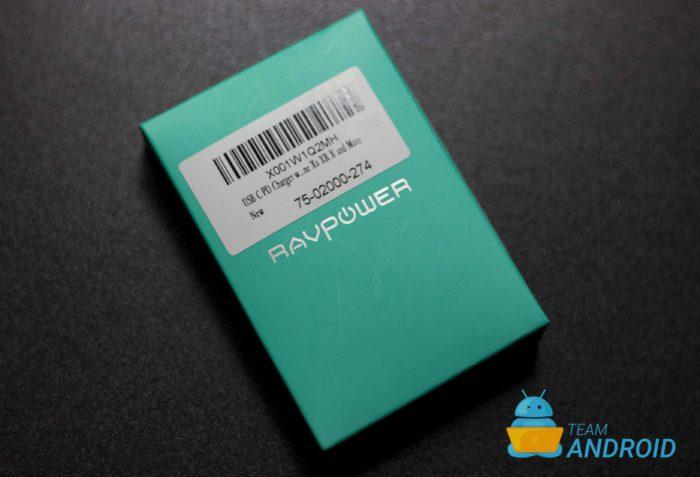 RAVPower 45W GaN USB-C PD-adapter
