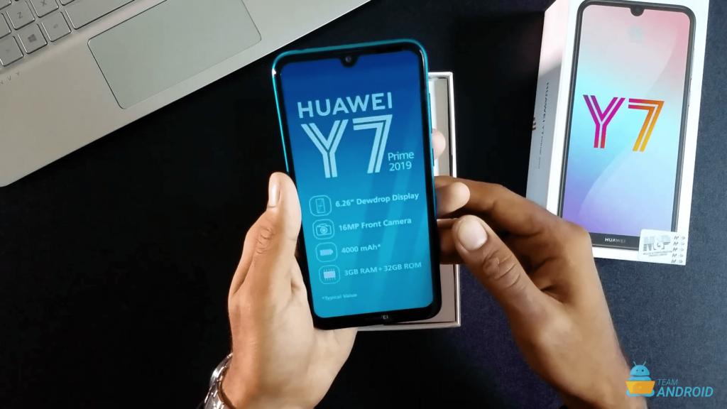 Huawei Y7 Prime 2019: Unboxing och första intryck 12
