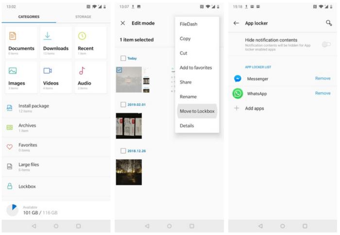 Så här låser du filer och appar med fingeravtryck - Huawei, OnePlus, Oppo och Samsung 12