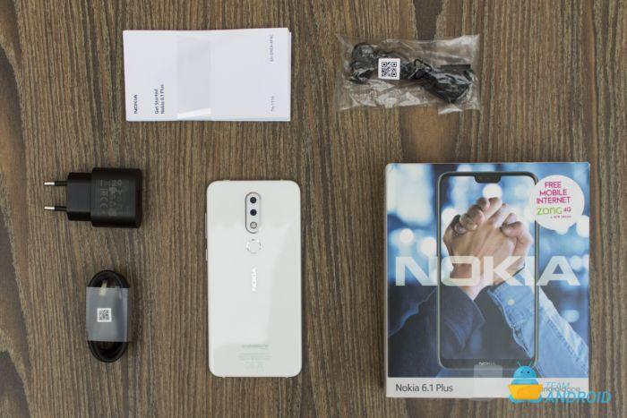Nokia 6.1 Plus Unboxing
