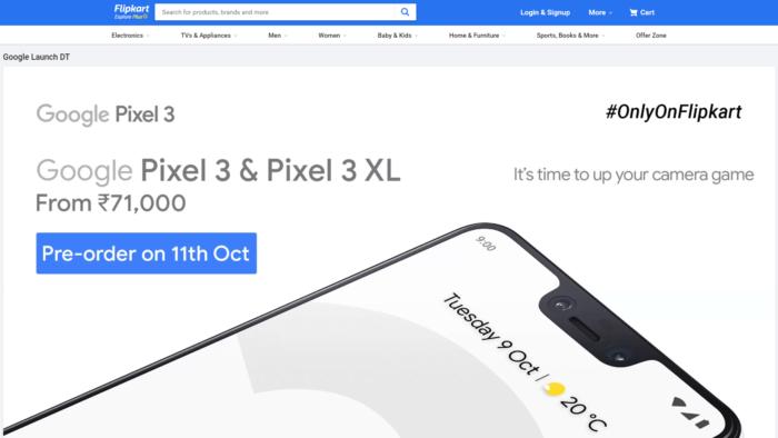 Var kan jag köpa Google Pixel 3 och Pixel 3 XL i Indien 11