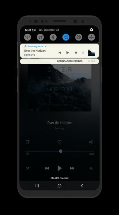 Ladda ner Samsung Experience 10-tema