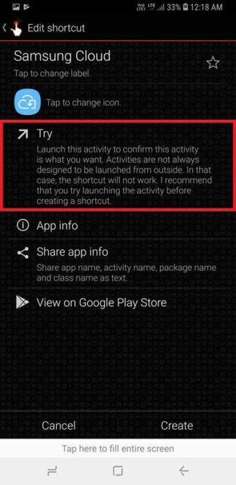 Lägg till Samsung Cloud-genväg i applådan på Samsung Galaxy Phones 17