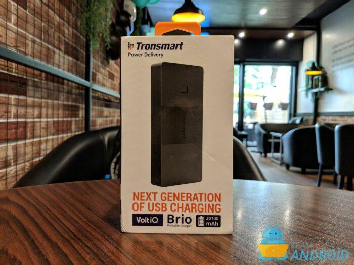 Tronsmart Brio Review - 20 100 mAh Power Bank