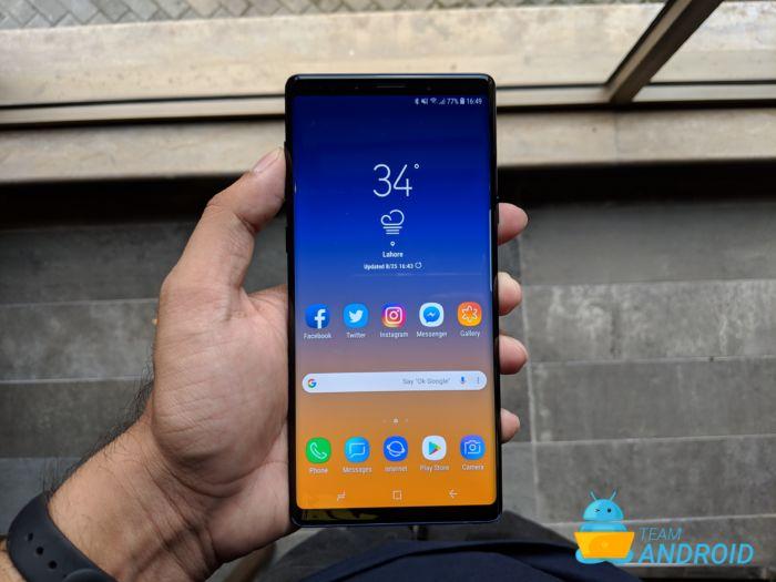 Topp 7 skäl att köpa Samsung Galaxy Note 9 11
