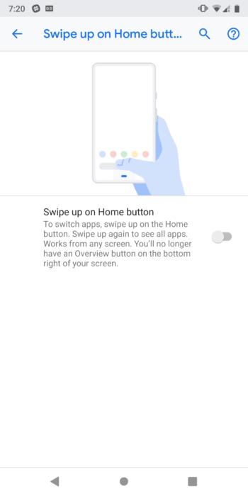 Så här aktiverar du gestnavigering på Android 9.0 Pie 14