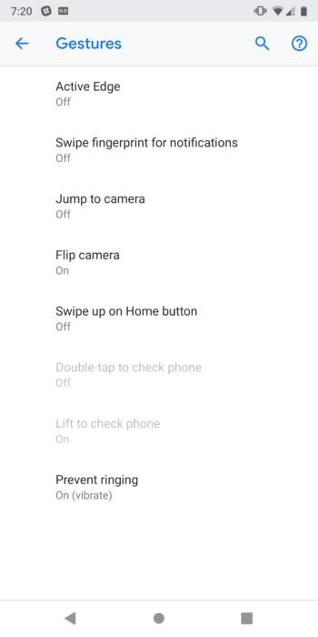 Så här aktiverar du gestnavigering på Android 9.0 Pie 13